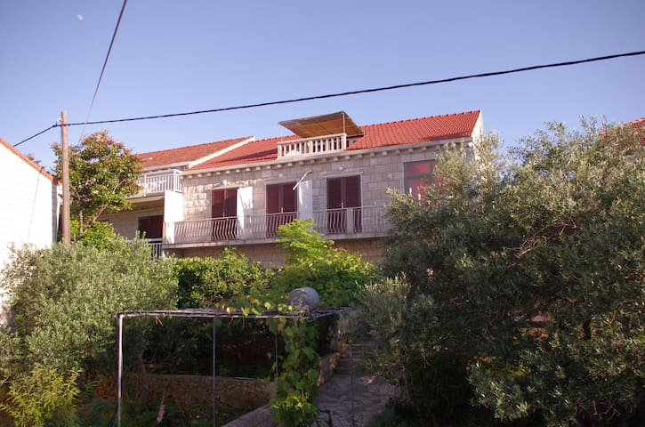 Apartment for two with one bedroom - Lumbarda - Villa