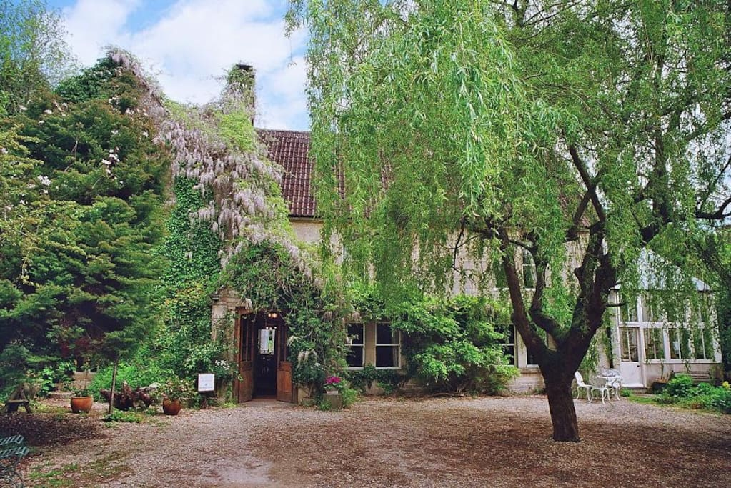 Your first view: The Manor House