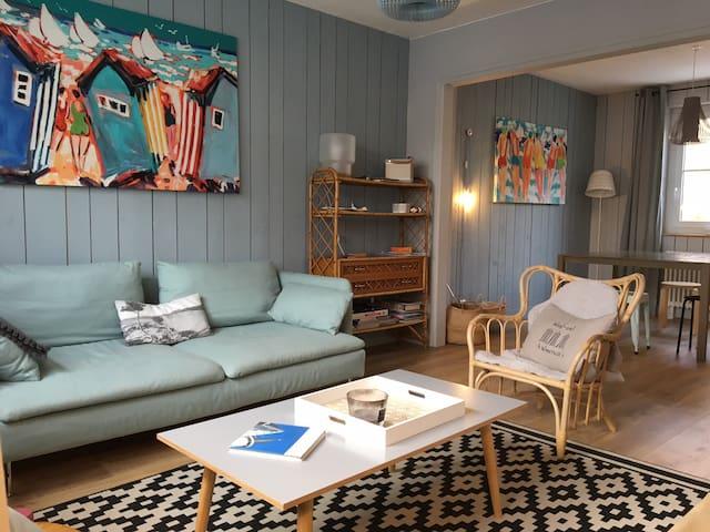 Maison cosy Wimereux proche plage - Wimereux - Rumah