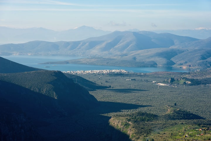 Delphi Panoramic View House