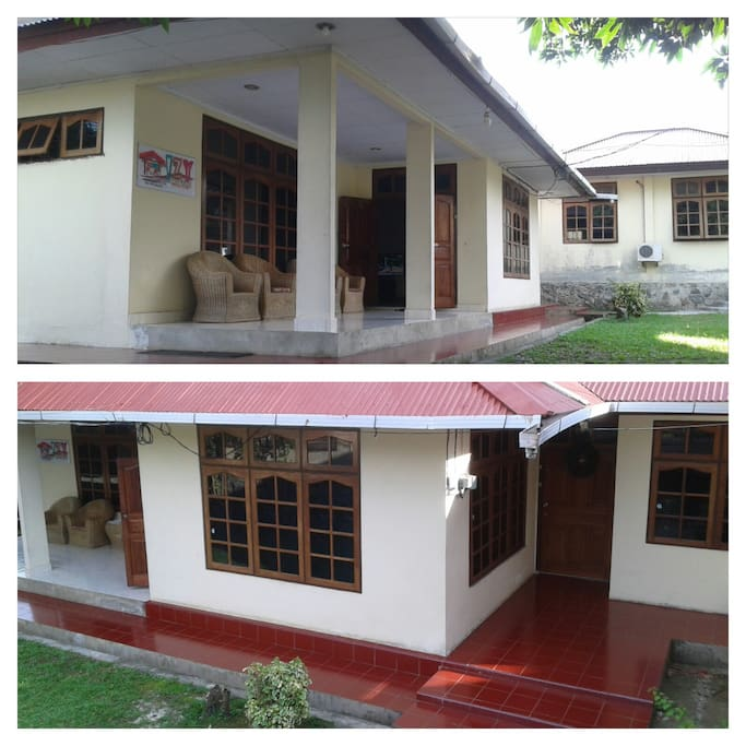 FRONT VIEW OF IZY GUEST HOUSE