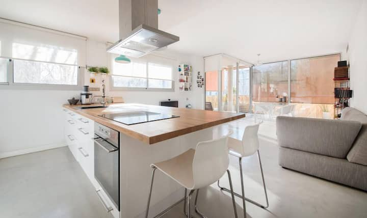 Magnificent apartment close to the beach