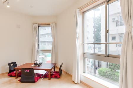 Shinjuku!2min walk station!wifi! Luggage 10am!201