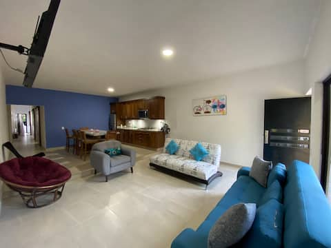 """New apartment """"Marivalla"""" with 2rooms 3beds & A/C"""