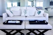 Calm and contemporary design captures beach living perfectly.