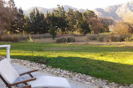 Franschhoek Willowstone   A Peaceful Retreat