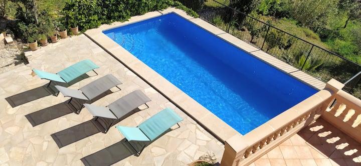 Casa con piscina para amantes de la naturaleza