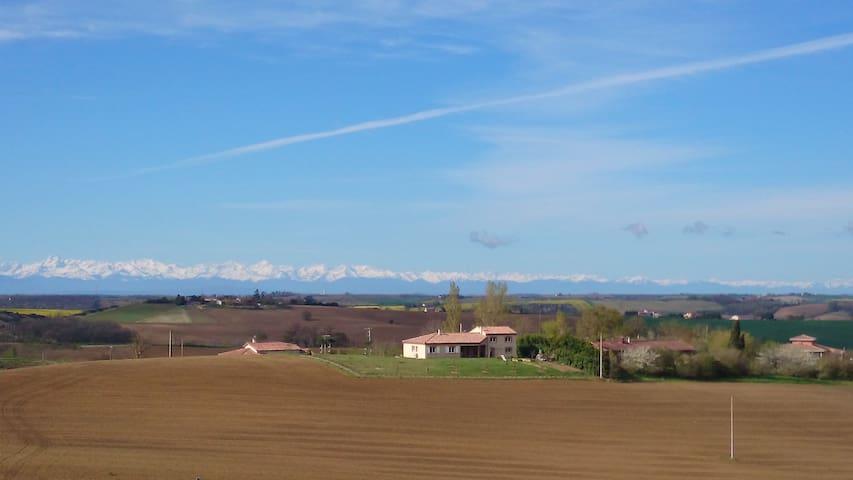 Maison au calme de la campagne - Nailloux - Hus