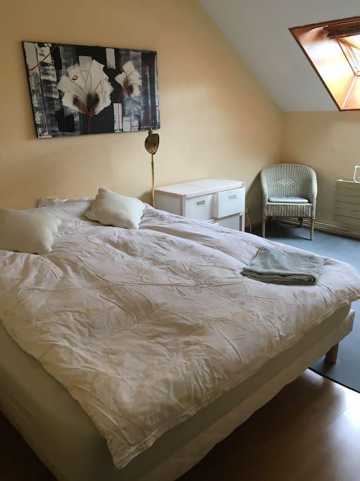 1st Bedroom - double bed
