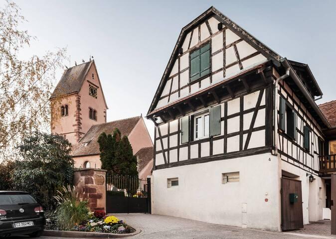 Maison 125 m² proche Strasbourg - Wolfisheim - บ้าน