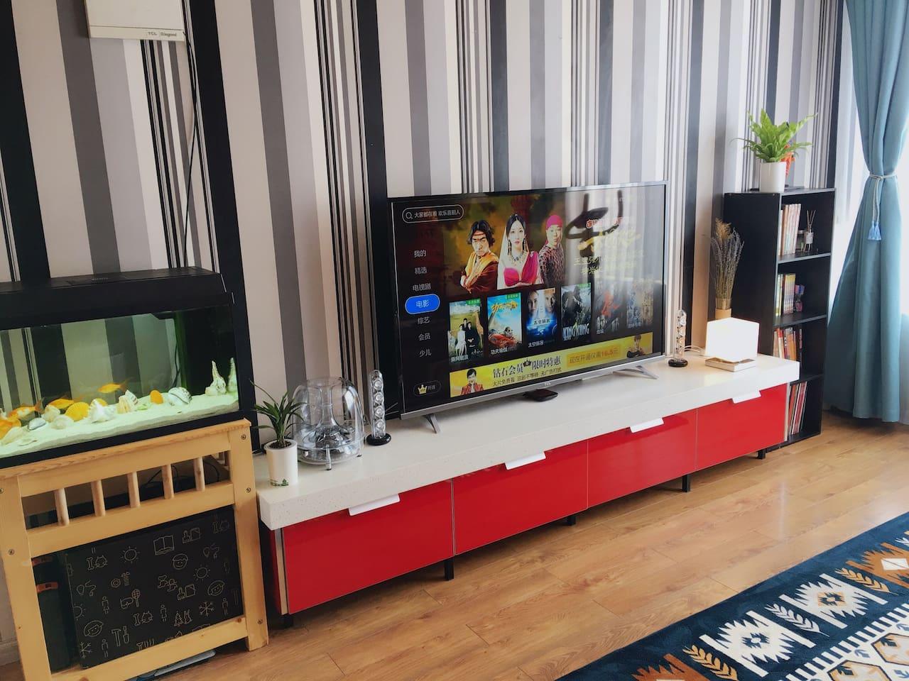 客厅A 58寸4K电视