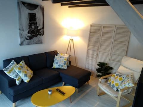 Maison de ville cosy confortable et chaleureuse