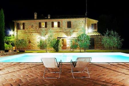 Apartment in restored farmhouse with pool - Sinalunga