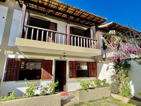 Casa linda e confortável a 500m da Praia do Peró.