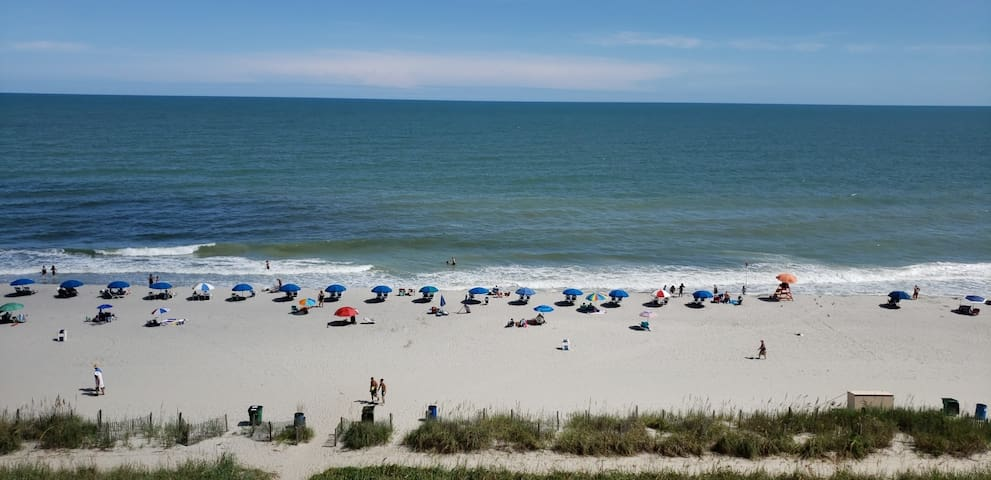 Resort Oceanfront Studio! Gorgeous views! *2Beds*