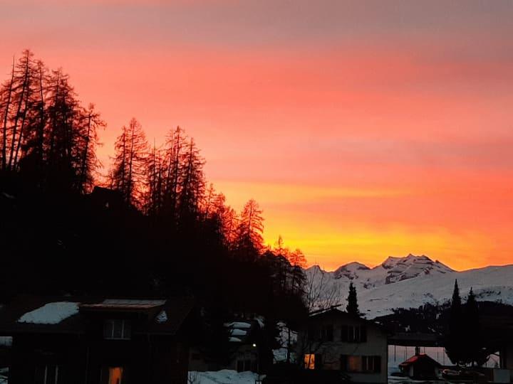 Attraktive Wohnung in Graubünden