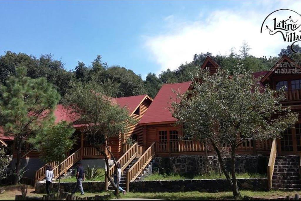 Cabaña Rustica en Santa Ana Tlacotenco Milpa Alta.