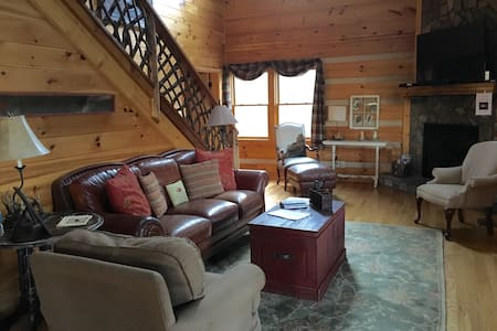 Cozy Cabin in the woods- ASU/Boone - Vilas - Casa