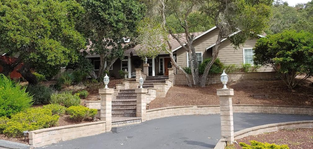 Quiet Country Home on 2 Acres Near Pebble Beach