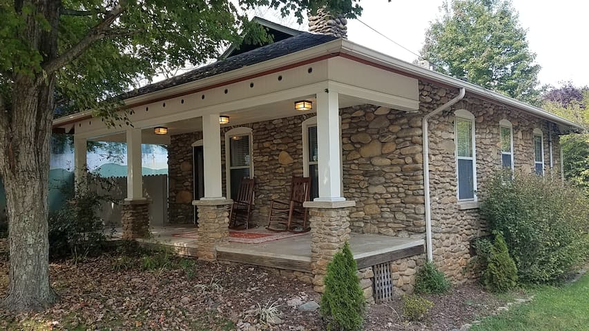Tommy's Stone Cottage in Downtown Waynesville