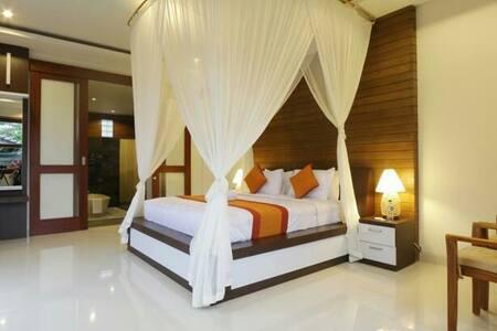 Cozy Villa in Ubud with deluxe room - ubud - Apartment