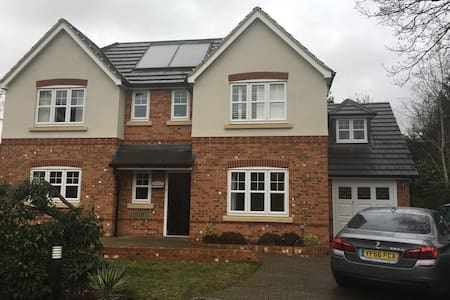 Modern large detached house/garden - Sunbury-on-Thames - Huis