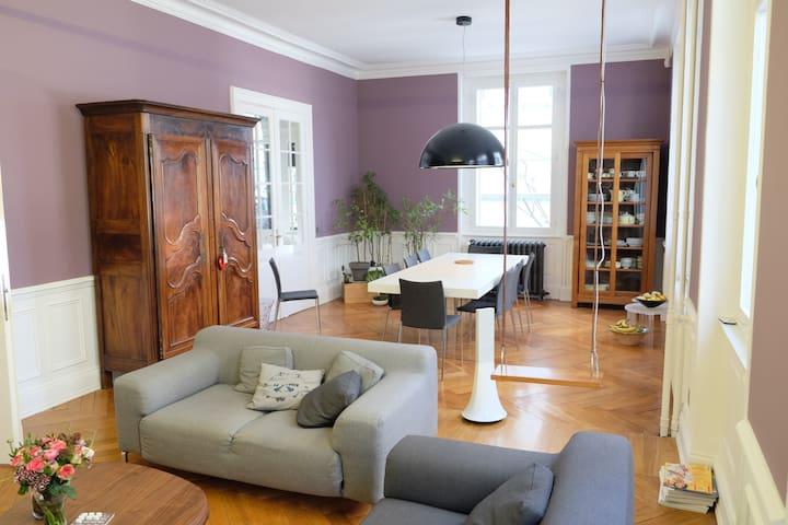 Grande maison de ville - Mulhouse - Huis