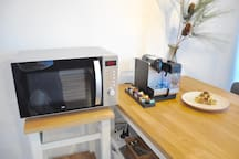 microwave with baking function - Mikrowelle mit Backfunktion