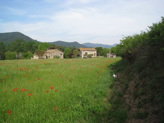 Farmhouse in a charming place - Sant Esteve de Llémena - Rumah