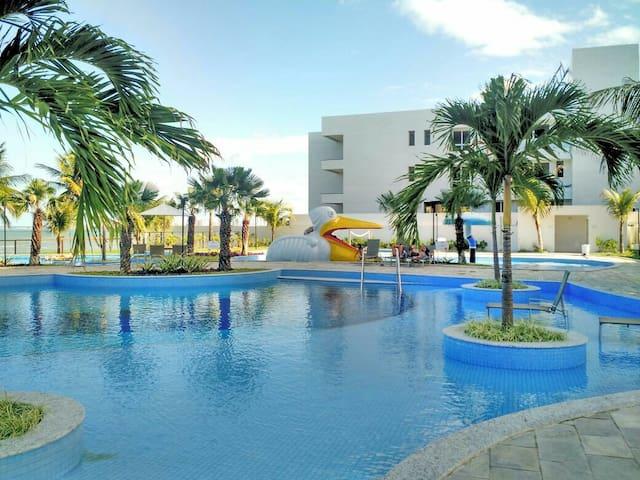 Área de piscina .