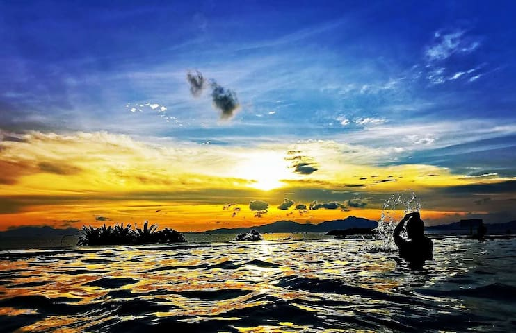 巽寮湾高层海景房01(网红UFO际游泳池~帆船出海~儿童乐园~可做饭)
