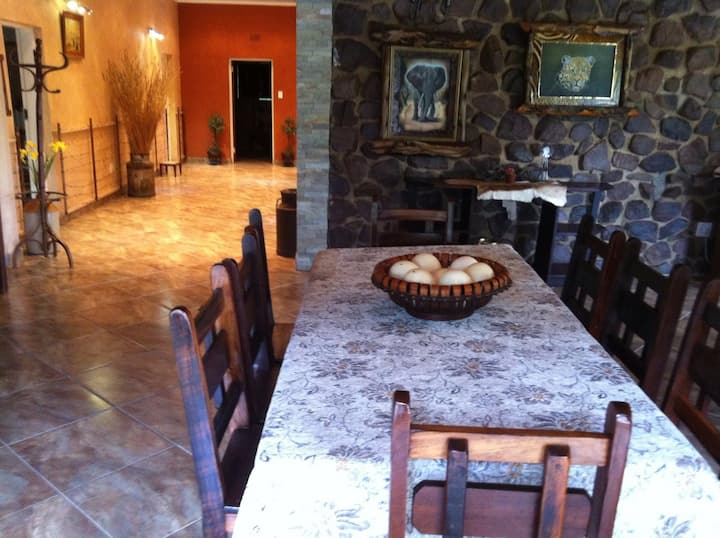 Spacious house in the bushveld