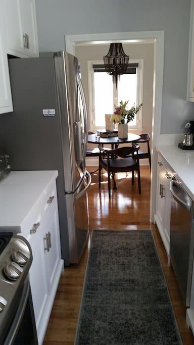 kitchen and kitchenette