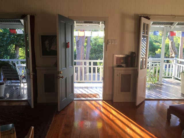 Beautiful Cottage, Free Yoga Class! - Canungra - Rumah