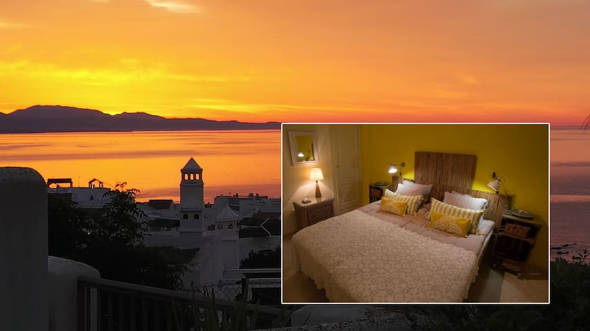 Yellow room- Stunning view Costa del Sol