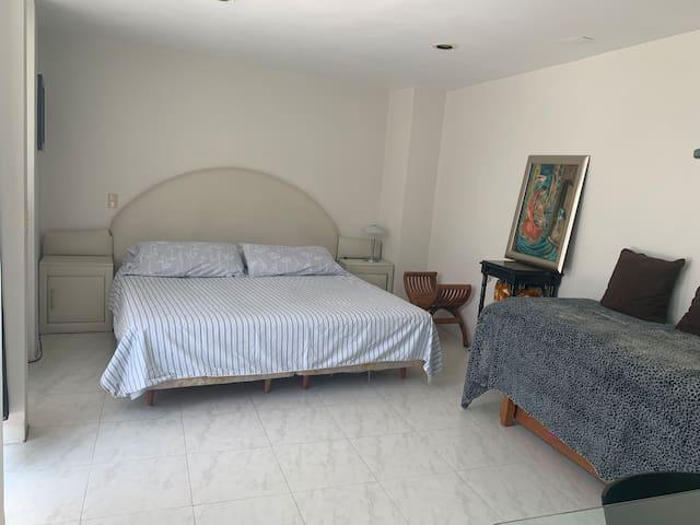 Habitación Privada en Coyoacán, La Conchita