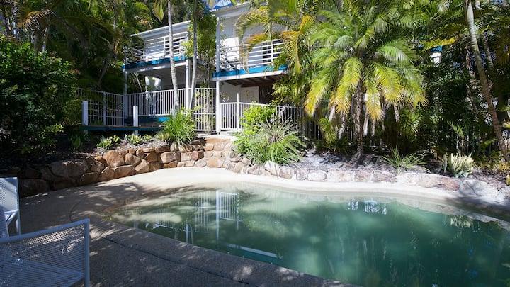 Utopia Beach House with Pool & Heated Spa