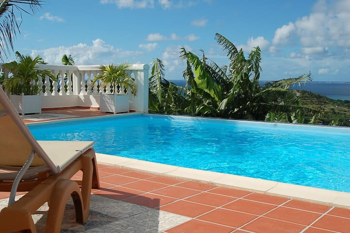 Exotic 2 beds/2 baths in French side St Maarten