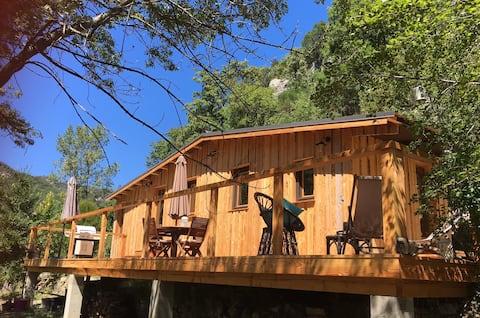 Wooden Cabin - Les SenS de l'Escalette