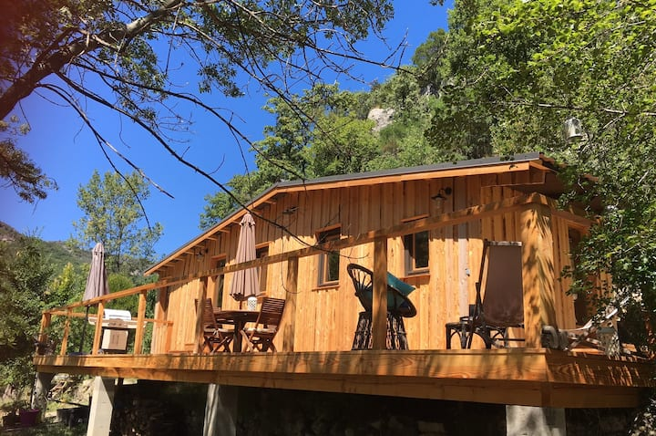 Les SenS de l'Escalette - La Cabane
