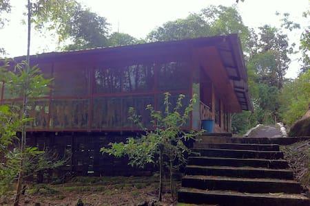 Cabaña en la cascada Hollín - Ecuador - Tena - Allotjament sostenible a la natura