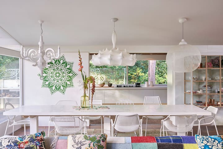 Dream Villa out of a magazine in forest near beach