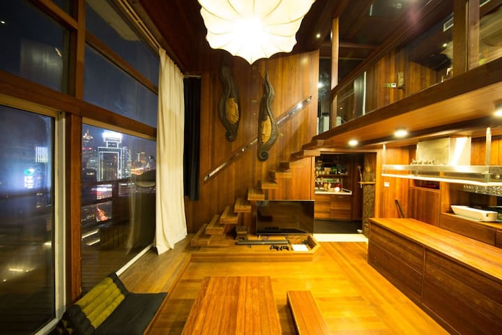 Penthouse Great view, 4 bedroom 2 bath,Yu Garden - Shanghai - Appartement