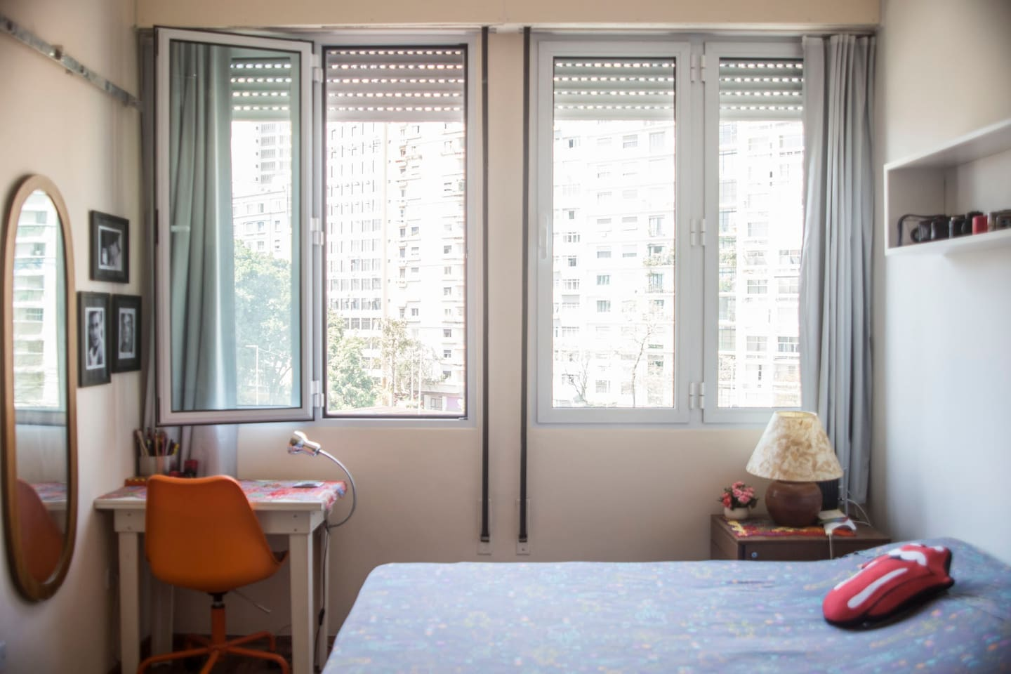 New soundproof windows and blackout curtains