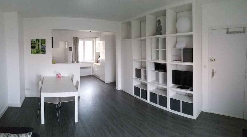 Ambleteuse appartement 25m de la plage