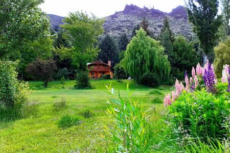 Lodge los Nativos ★ Oasis Verde en Orilla del Rio!