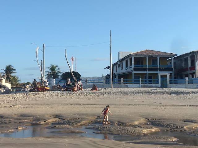 Casa Sereia do Mar-  Beira-mar da praia da Caponga