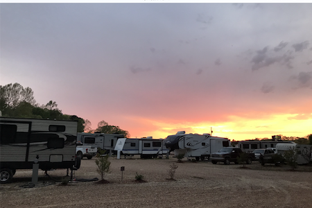 Rebel RV Park pads