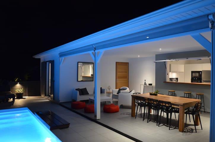 Coco Cannelle Villa 4 Bdrm, Private Pool, Deshaies
