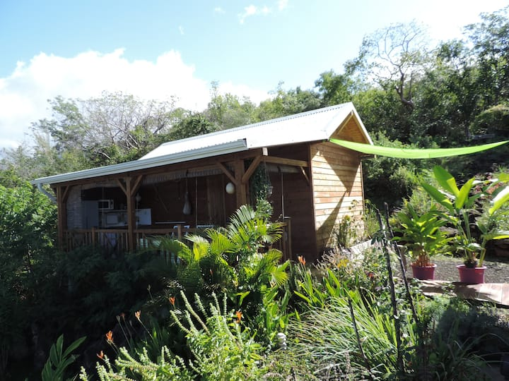Bungalow, case traditionnelle avec accès piscine